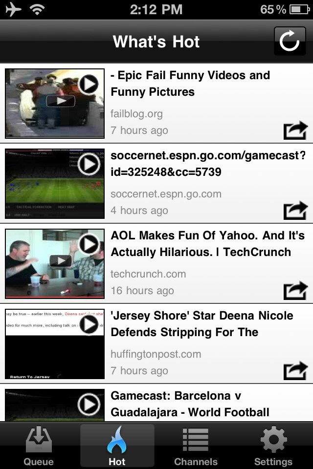 Skyfire VideoQ Review: Flash for your iOS device