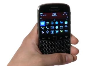The Verizon bound BlackBerry Bold 9930