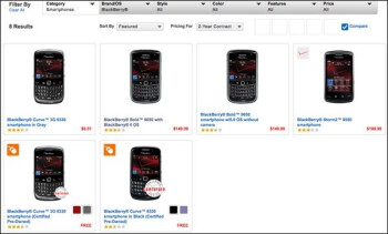 Verizon's website discrepancy suggests 2 new BlackBerry models are coming to Big Red