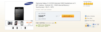 Newegg's unlocked model of the Samsung Galaxy S II will work on T-Mobile and AT&T's pipelines