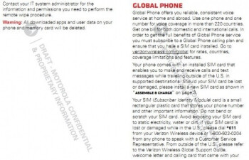 The Motorola DROID Bionic user manual gives away the size of the display