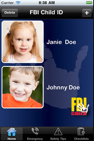 FBI's Child ID app can be very useful in the first few hours after someone has gone missing