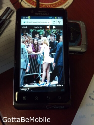 More pictures of the Motorola DROID Bionic - More photographs of the Motorola DROID Bionic are made public