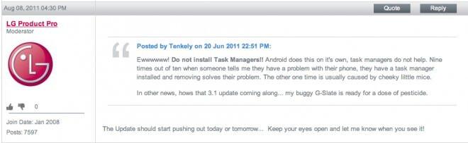 T-Mobile G-Slate is getting its Honeycomb 3.1 tasting tomorrow