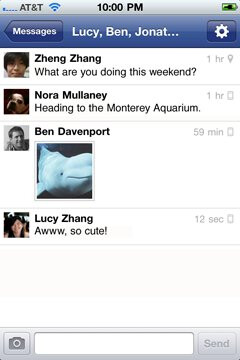 Facebook introduces its separate Messenger app for iOS & Android