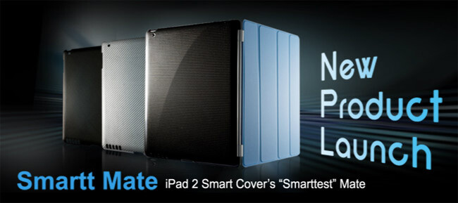 Smartt Mate case for the iPad 2 dishes up that alluring silhouette look