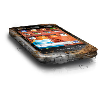 The rugged Samsung Galaxy Xcover runs Gingerbread and is not afraid to get dirty
