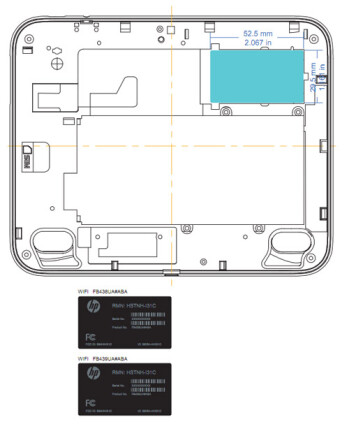 HP TouchPad with 7-inch display hits the FCC