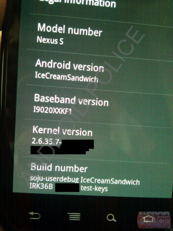 Alleged Ice Cream Sandwich screenshots leaked