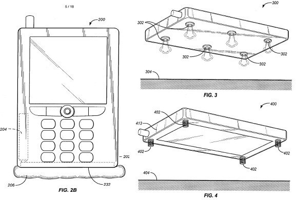 Mobile gadgets with airbags might be appearing courtesy of Amazon's Jeff Bezos