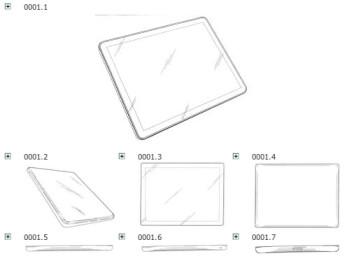 Apple won its Samsung Galaxy Tab 10.1 European ban based on a design sketch filed in 2004