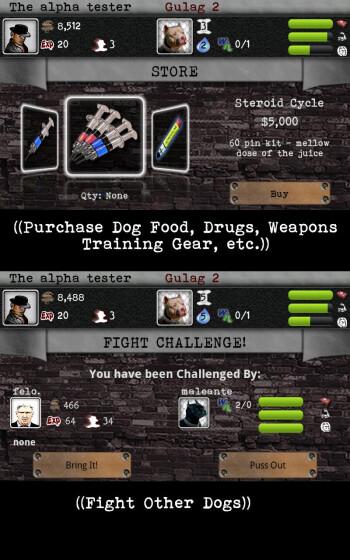 Portions of the $4.99 price of KG Dogfighting goes to the Humane Society