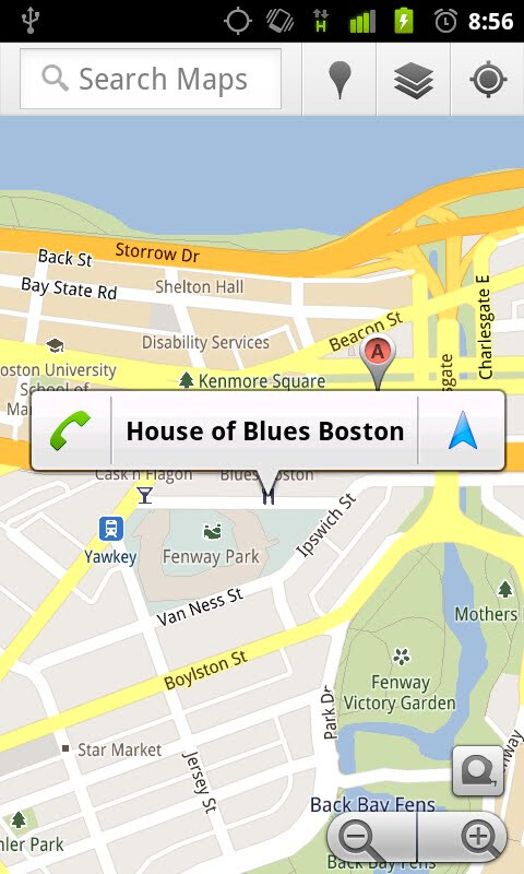 Google Maps updated for Android, brings awesome Bubble Buttons