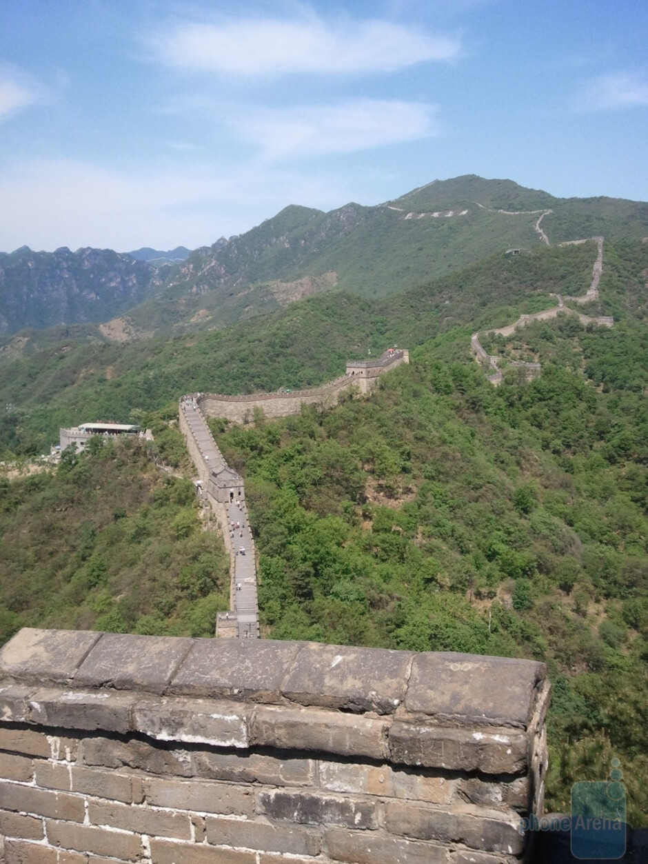 13. Paul Throgmorton - Samsung FocusThe Great Wall of China - Cool images, taken with your cell phone #9