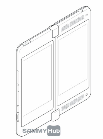 Samsung may be playing with idea of a double-screened device