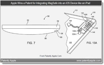Apple gets MagSafe-like patent for iOS devices