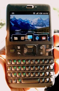 An early Android prototype - LG denied an opportunity to be the first Android phone maker