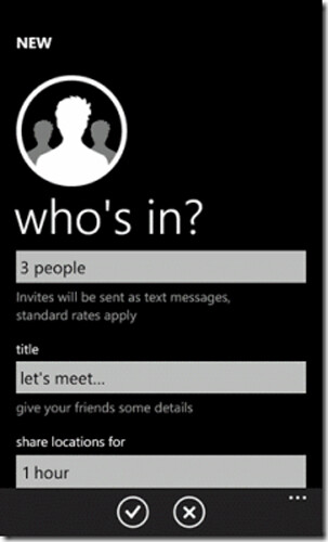 Microsoft introduces Windows Phone �We're In� location app for organizing powwows