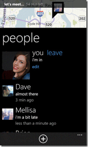 """Microsoft introduces Windows Phone """"We're In"""" location app for organizing powwows"""