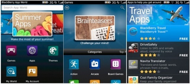 BlackBerry App World 3.0 is expected to debut on August 22nd - BlackBerry App World 3.0 set to debut on August 22nd
