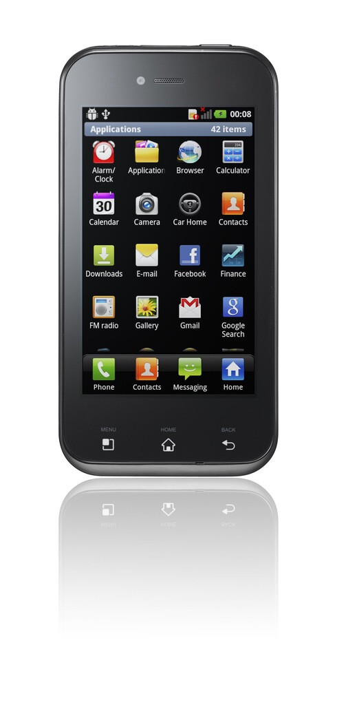 LG Optimus Sol is now official, shines with its Ultra AMOLED display