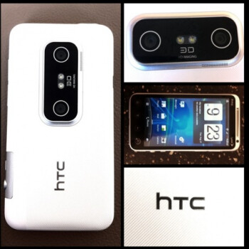 HTC EVO 3D dressed in white is expected to arrive September 9th with RadioShack