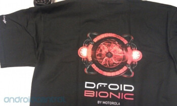 These Motorola DROID BIONIC shirts are the latest in smartphone fashion