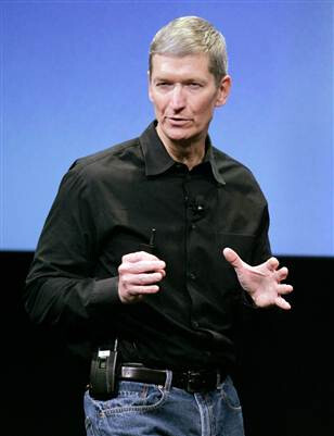Tim Cook - the new face of Apple