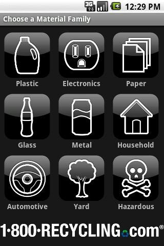 My Recycle List - Green Android apps tailored with the environment in mind