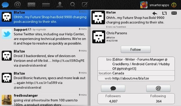 TweetBook gallops in to provide a decent Twitter experience on the BlackBerry PlayBook