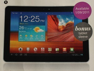 """Australian retailer Myer still plans on launching the Samsung Galaxy Tab 10.1 on September 1st - Dutch judge says Apple's patent on """"slide to unlock"""" is probably invalid"""
