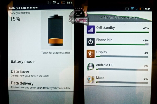 Motorola DROID BIONIC battery life hinted in photos