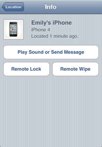 Find My iPhone app - Preparing for the unfortunate event of phone theft or loss: the complete guide for the paranoid iPhone or Android user