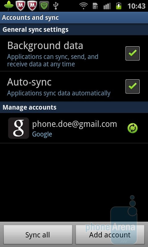 The Auto-sync option - Preparing for the unfortunate event of phone theft or loss: the complete guide for the paranoid iPhone or Android user