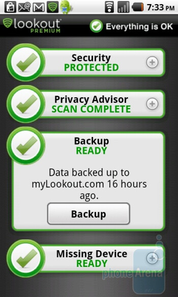 Lookout Security & Antivirus app