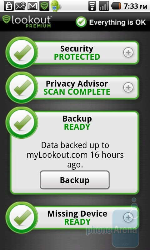 Lookout Security & Antivirus app - Preparing for the unfortunate event of phone theft or loss: the complete guide for the paranoid iPhone or Android user
