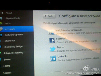 This is what BlackBerry Tablet OS version 2.0 might look like