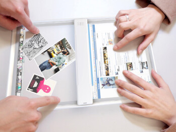 Iris transparent tablet concept shows how AR, scanning could look in the future