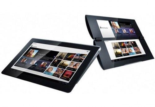 The Sony Tablet S (L) and Sony Tablet P (R) - The Sony S2 Android tablet will launch as the Sony Tablet P