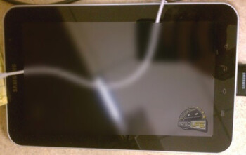 The first images of what is claimed to be the Samsung Galaxy Tab 7.7