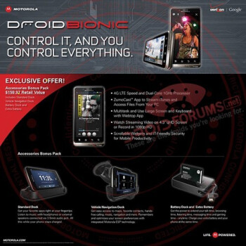 A leaked flyer reveals Costco's deal for the DROID BIONIC