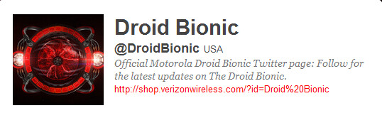 """Despite appearances to the contrary, this is not a legitimate Verizon or Motorola account - Motorola DROID BIONIC to connect with """"affordable"""" Webtop adapter and other accessories"""