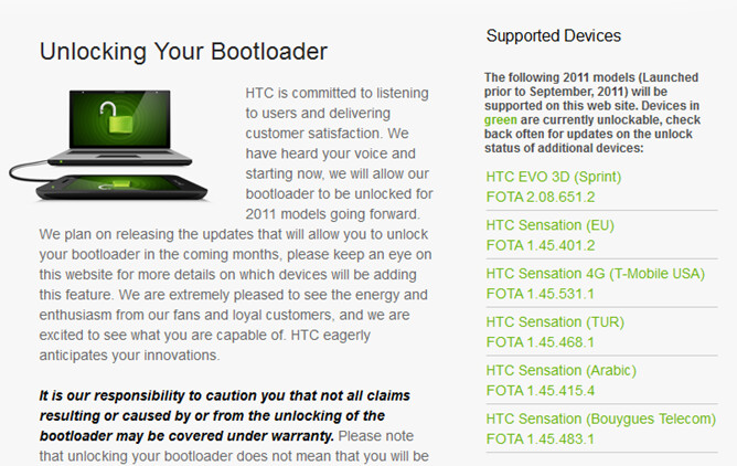 Go to HTCDev.com to unlock the bootloader on your HTC Sensation 4G - Sensational news as the bootloader can now be unlocked on T-Mobile's HTC Sensation 4G