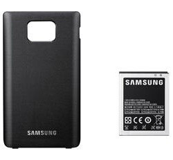 Samsung's official 2000mAh battery and back cover for the Galaxy S II