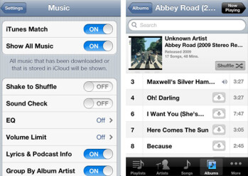 iTunes Match quietly brings music streaming to iCloud