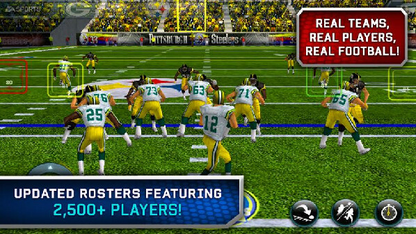 Take control of your favorite NFL team with Madden 12 - Madden 12 brings real NFL teams and players to your Android phone