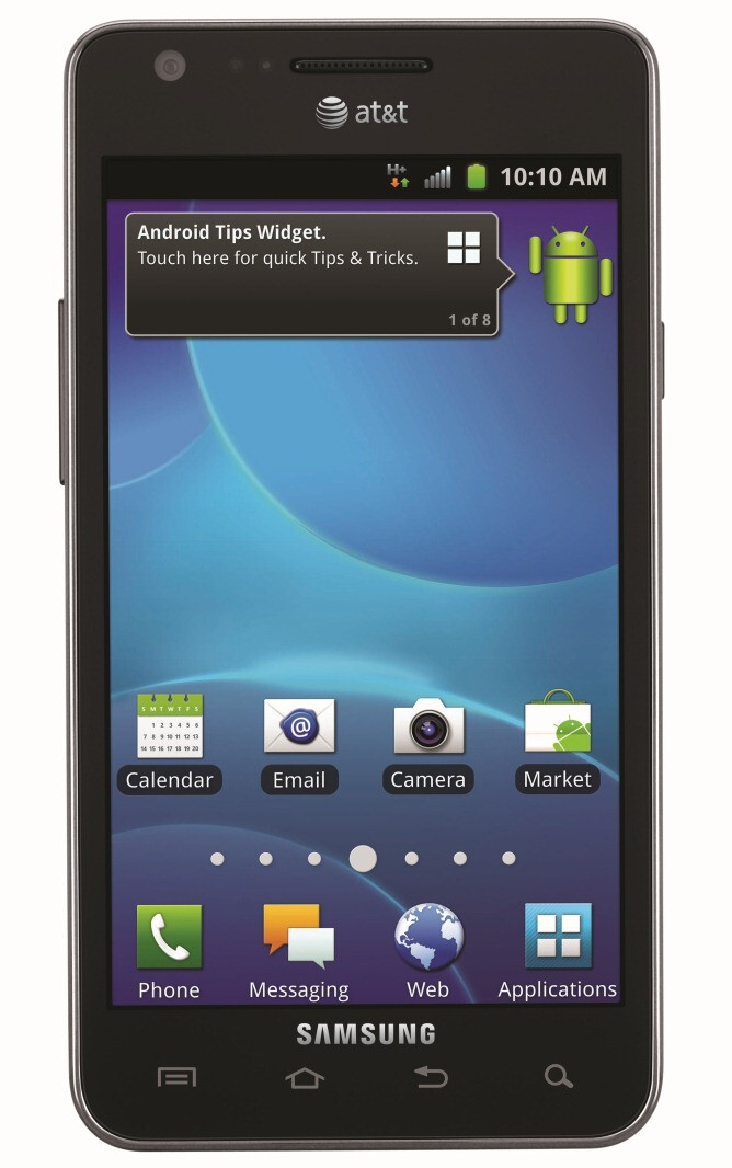 AT&T - Samsung Galaxy S II finally announced for US, due out mid-September