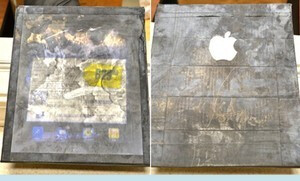 """The wooden """"Apple iPad"""" purchased by Ashley McDowell - South Carolina woman spends $180 for wooden Apple iPad"""