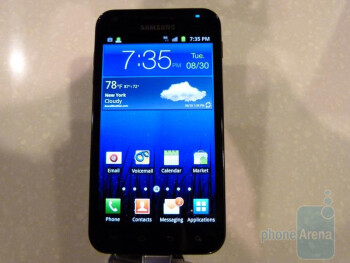 Samsung Epic 4G Touch Hands-on