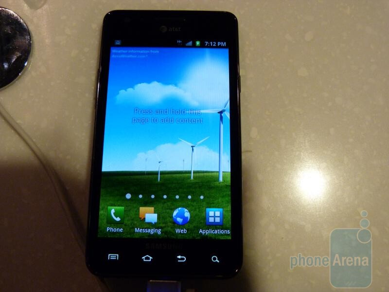 AT&T Samsung Galaxy S II Hands-on